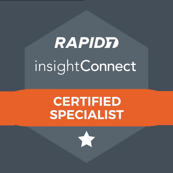 InsightConnect Certified Specialist