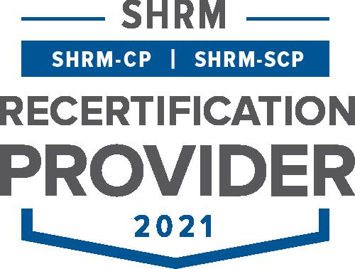SHRM Recertification Provider 2021