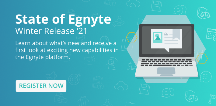 State of Egnyte – Summer 2020 On Demand