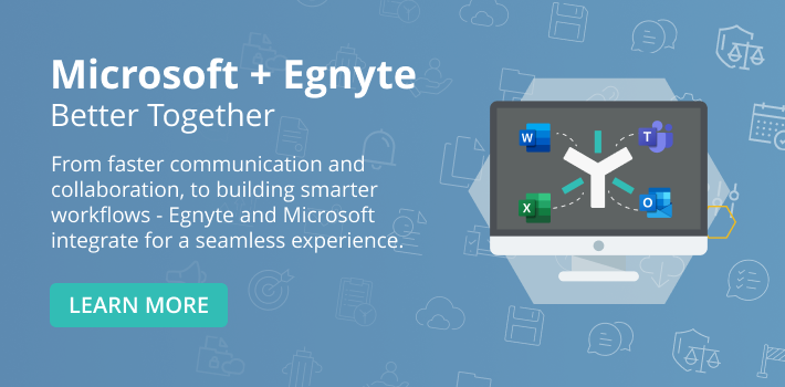 Microsoft+Egnyte