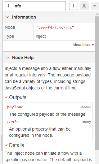 Changing a Node's Settings
