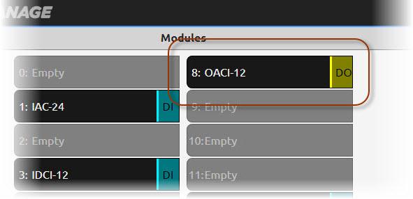 Module reporting error