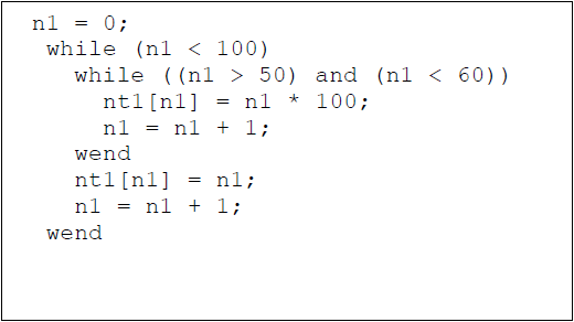 While example 2